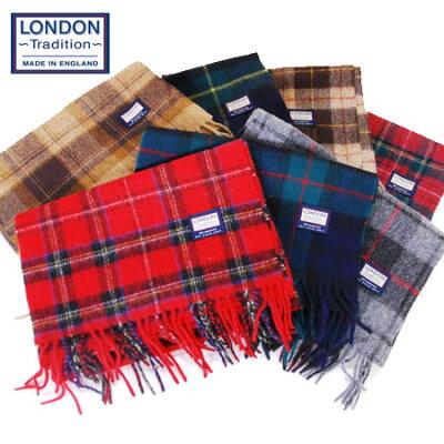 冬の襟元を暖かくスマートに包む【London Tradition】英国製 ロンドントラディション ウール10...