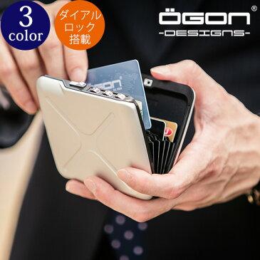 [名入れ無料]OGON アルミコードロックウォレット[OGON/オゴン][ギフト 防犯 鍵 ロック アルミニウム カードホルダー 蛇腹式 ジャバラ カードケース クレジットカード入れ ビジネス プレゼント] グレンフィールド