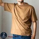 クルーネックT Tシャツ 半袖 コットン[Vincent et Mireille /バンソン エ ミレイユ][送料無料]