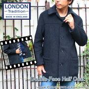LONDONTRADITION ロンドントラディッション ダッフル ダブルフェイスハーフコート アウター ファッション