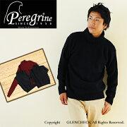 ペレグリン タートルネック セーター カジュアル ファッション