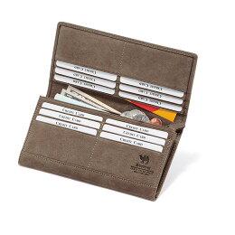 駱駝革長財布