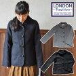 【送料無料】【LONDONTRADITION/ロンドントラディッション】英国製ウール混軽量ジャケットコート【レディース】