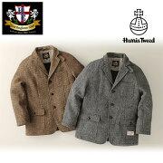 ツイード シューティング ジャケット HERRINGBONE アウター ファッション