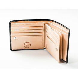 [名入れ無料]英国製ブライドルレザー二つ折り財布-BRITISHGREEN-【2017年NEWモデル】【送料無料】[メンズ2つ折り財布]