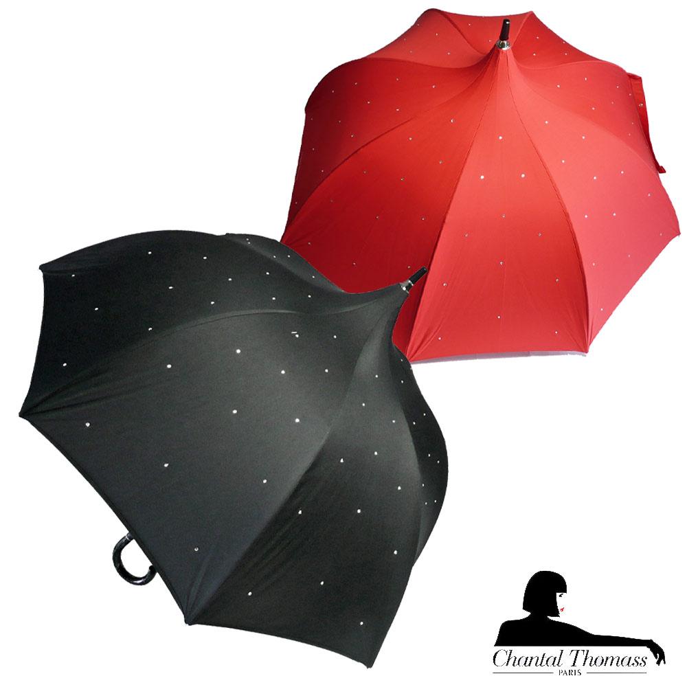 傘, 晴雨兼用傘 Chantal Thomass AUTO STRASS CT28