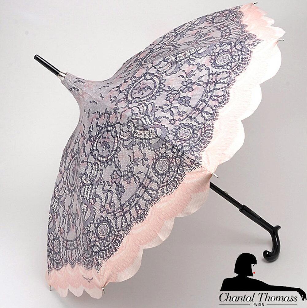 傘, レディース雨傘 1 Chantal Thomass Pagode Noir CT772bis