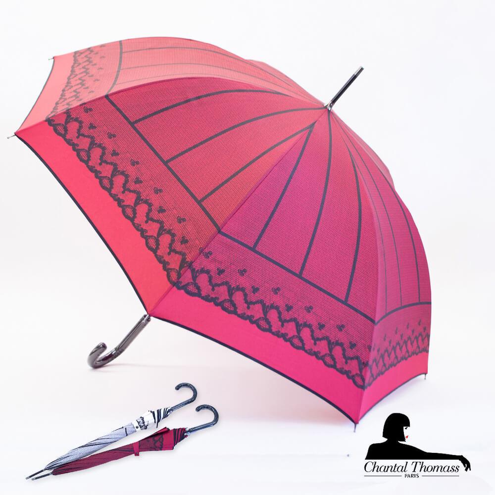 傘, 晴雨兼用傘 1 IVOIRE() CHANTAL THOMASS UV Corsete CT1068