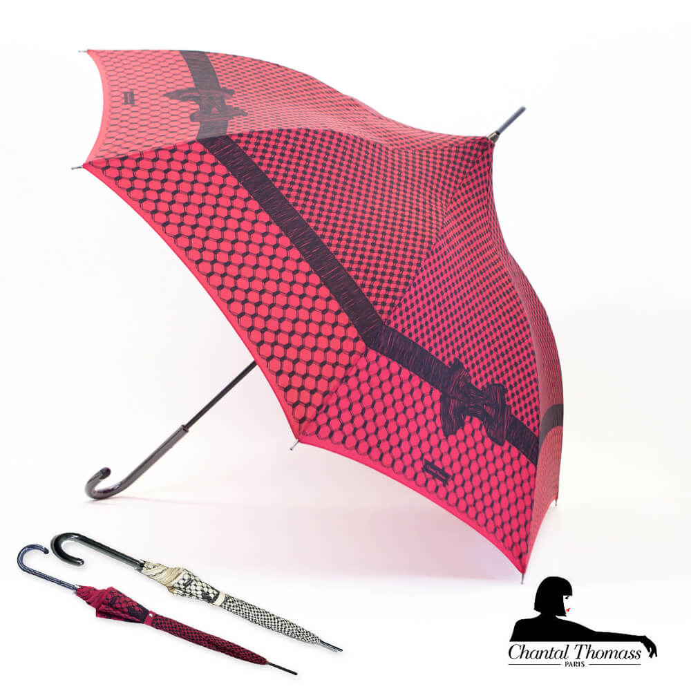 傘, 晴雨兼用傘 CHANTAL THOMASS UV CT406 RESILLES
