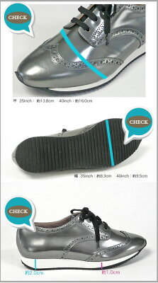 FABIORUSCONIファビオルスコーニレザーウィングチップスニーカー2701レディースシューズ靴革ローファーフラットシューズレースアップラバーソール22.5cm23cm23.5cm24cm24.5cm