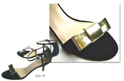 ファビオルスコーニFABIORUSCONIスエードリボンストラップサンダルTERESAヒール6cm38インチ24cmレディースシューズ靴イタリア革レザー歩きやすいヒールオープントゥパーティー彼女妻女性人気レディースシューズ夏コーデ靴