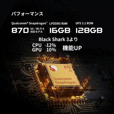 blackshark4e-スポーツを極限まで楽しめるゲーミングスマホ