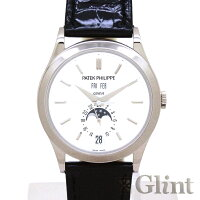 パテックフィリップ(PATEKPHILIPPE)アニュアルカレンダーティファニーWネーム5396G-011ホワイトゴールド〔腕時計〕〔Tiffany&Co.〕〔メンズ〕【中古】