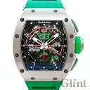 リシャールミル(RICHARD MILLE)RM11-01 Ti オートマティック ワインディング フライバッククロノグラフ ロベルトマンチーニ〔腕時計〕〔メンズ〕【中古】