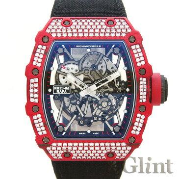 リシャールミル【RICHARD MILLE】RM35-02 RQTPT ラファエル・ナダル パヴェダイヤモンド〔新品〕〔腕時計〕〔メンズ〕〔純正ダイヤモンド〕