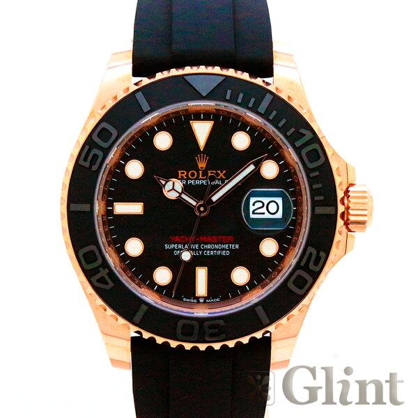 ロレックス(ROLEX)ヨットマスター40126655エバーローズゴールド〔2021年2月/ランダムシリアル〕〔腕時計〕 新品