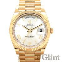 ロレックス(ROLEX)デイデイト4022823818Kイエローゴールド〔腕時計〕〔メンズ〕〔2019年4月/ランダムシリアル〕〔未使用品〕【中古】