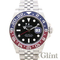 ロレックス(ROLEX)GMTマスターII126710BLROペプシベゼル〔メンズ〕〔腕時計〕〔2019年2月/ランダムシリアル〕〔新品〕