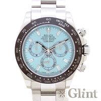 ROLEX(ロレックス)コスモグラフデイトナプラチナアイスブルー116506A〔腕時計〕〔メンズ〕〔8Pバゲットダイヤモンド&3Pダイヤモンド〕〔未使用品〕