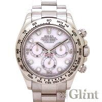 ロレックス(ROLEX)デイトナ116509ZERダイヤモンドブルーローマンインデックス〔ホワイトゴールド〕〔2018年4月/ランダムシリアル〕〔腕時計〕〔メンズ〕