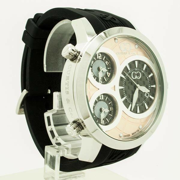 CURTIS&Co(カーティス)BIG TIME WORLD 50mm(RG) カーティス ビックタイムワールド50mm【腕時計】