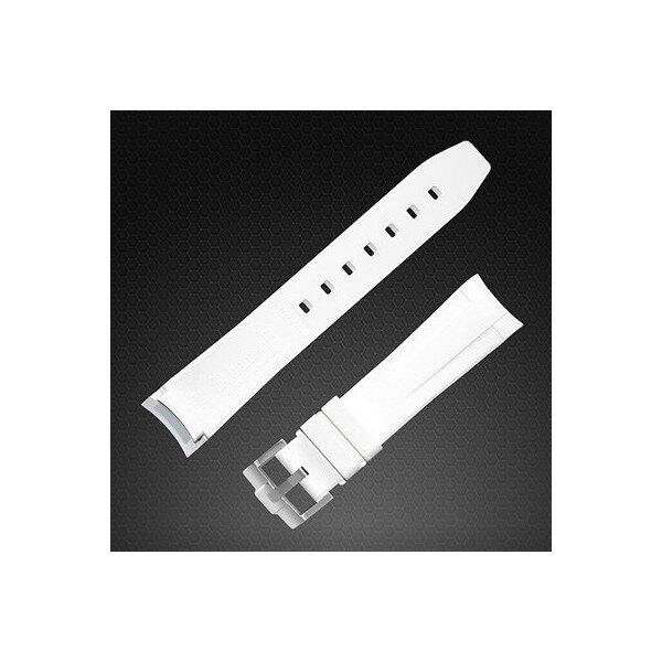 ラバーB【RUBBERB】ROLEX ヨットマスター(40mm)専用ラバーベルト 色:オレンジ【尾錠付き】