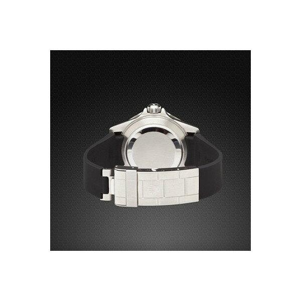 ラバーB【RUBBERB】ROLEXGMTマスターII専用ラバーベルト 色:ブラック【ROLEX純正バックルを使用】※時計、バックルは付属しません