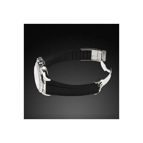 ラバーB【RUBBERB】ロレックス(ROLEX)デイトナ YG/WG(革ストラップ)(Ref.116518、116519)専用ラバーベルト【レッド】※時計は付属しません