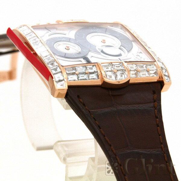 ハリーウィンストン【HARRYWINSTON】ザ・アヴェニュースクエアードA2 AVSATZ45RR003(350/MATZRL.W1)〔バゲットダイヤモンド〕〔腕時計〕〔新品〕〔メンズ〕