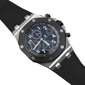Rubber B [RUBBERB] Audemars Piguet Royal Oak Offshore 42mm model exclusive rubber belt Sail cloth [Black] *Watch and buckle are not included.