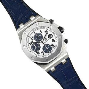 Резина B [RUBBERB] Эксклюзивный резиновый ремень Augemars Piguet Royal Oak Offshore 42 мм, модель Alligator [синий] * Часы и пряжка не включены.