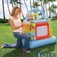 INTEXソフトサイドリルベビージム【ベビーサークル】【ベビージム】【ベビージムプレイマット】【赤ちゃんジム】