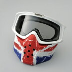 【ヤマハ】 【2018年2月以降入荷予定】 DRAK 用 マスク & ゴーグル キット ユニオンジャック 【SHARK ヘルメットオプション品】