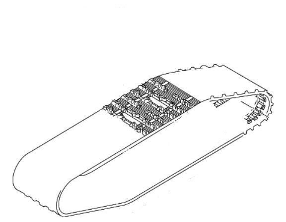スノーモービル, 51cc~125cc (YAMAHA) 8GK-47110-01(8GK-47110-01 RPZ50 RT50 8gk4711000