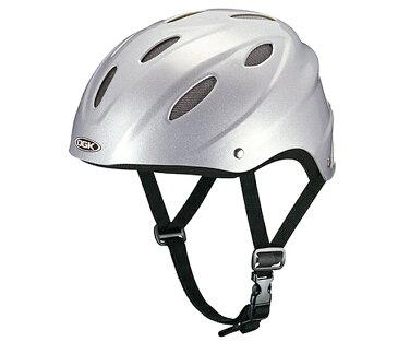 【4966094453848】【OGK KABUTO】 CLIFF クリフ シルバー フリー(57〜59cm)自転車用ヘルメット 大人用 日本人の頭部形状にジャストフィット サイズ調整スポンジ付属 【自転車ヘルメット サイズ調整スポンジ付】