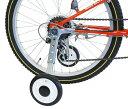 【4510676330517】【送料無料】【GRK】 P-701W-1624 CTB対応補助輪 ホワイト/ブラック 自転車の練習に ...