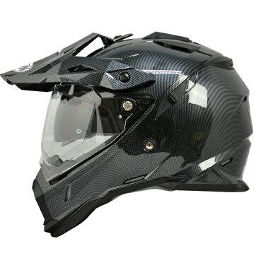 【THH】 インナーサンバイザー装備 オフロードヘルメット TX-28 シルバーカーボンプリント モトクロス 全排気量対応 【thh-tx28-sca】
