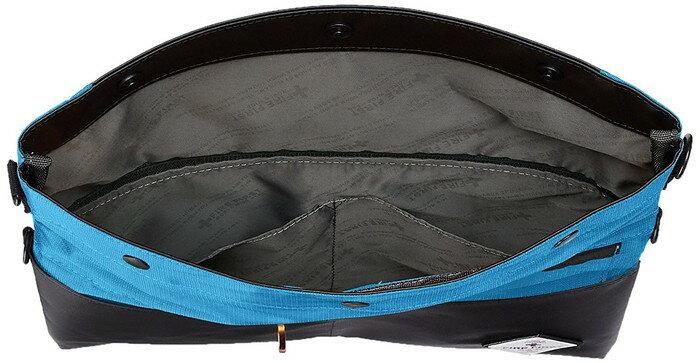 2WAYショルダーバッグ FFDP-902 FF口折れショルダー  BL(ブルー) B5サイズがラクラク入る口折れタイプのショルダーバッグ  横320mm x 縦320mm x マチ20mm ポケット付き ベルト付 291-00804 【口折れバッグ・ショルダーバッグにもな