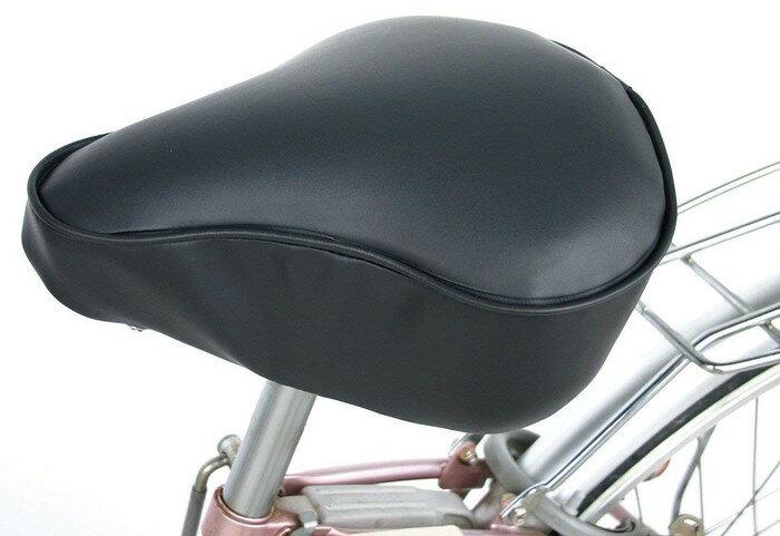 【】【MARUTO(大久保製作所)】 自転車用サドルカバー GEL入リサドルカバー一般車用 (ブラック) 大きめのサドルまで 防水に優れ、雨の日も安心 【自転車アクセサリー】