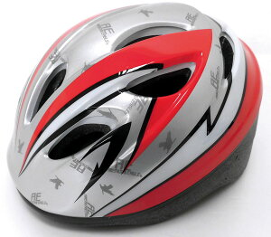 【4973291468315】アメリカンイーグル・レッド Mサイズ(54〜58cm)6歳以上  【SG安全規格合格】子供用ヘルメット 自転車用キッズヘルメット 女の子用 男の子用 小学生