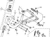 【ヤマハ(YAMAHA)】 X96-8A8J0-10 キーアセンブリ 電動自転車 補修部品 鍵 カギ キー