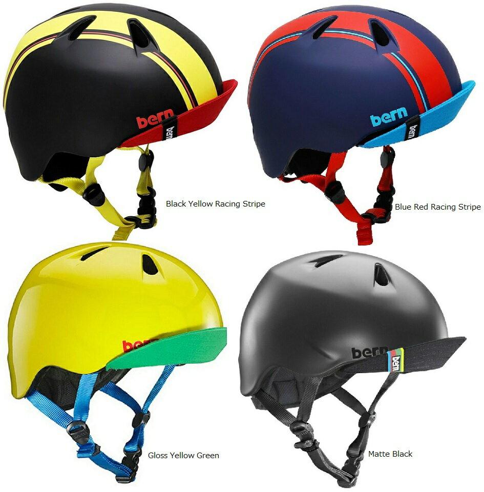 【Bern】 バーン NINO(ニーノ) 自転車 スノボ スケボ キッズ ジュニア用 男の子 全14色 ヘルメット(XS-S、S-Mの2サイズ) NINO