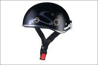【期間限定特価】LEAD(リード)D356ハーフヘルメット(フリーサイズ)ホワイトOSS-GCD356