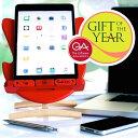 Thinking Gifts スマホ・タブレット・ブックスタンド ホルダー エッグチェア/eggchair・デザイン 角度調節可能 英国ギフトオブザイヤー受賞 iPhone iPad iPod Galaxy Nexus・・・