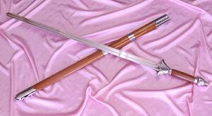 中国国家コーチ、JOC強化コーチの意見を取り入れ製作した ジュラルミン製の太極拳の剣です。【...