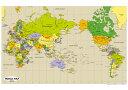 WORLD MAP(英語版世界地図ポスター)