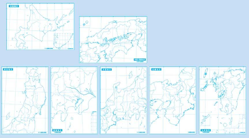 都道府県 47都道府県の地図 : ... 地図+日本地方別地図 計8枚