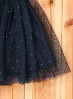 チュールスカート16SS_ネイビー