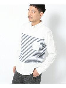 【50%OFF】GLOBAL WORK (M)フランネルデザインシャツ グローバルワーク シャ…