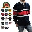 BARBARIAN バーバリアン ラガーシャツ メンズ 長袖 ラグビーシャツ ポロシャツ ボーダー 02P03Dec16